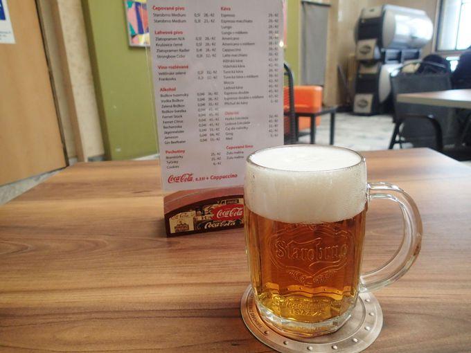 「美食の街」ブルノ、伝統的ビール「STAROBRNO」でNa zdravi!