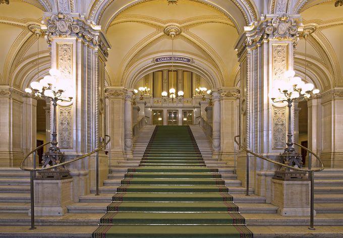 オペラはやはり、ウィーン国立歌劇場で
