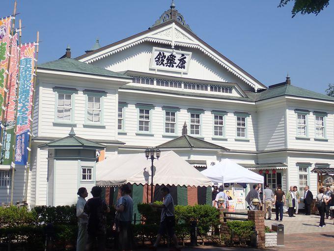 日本最古級の木造建築劇場