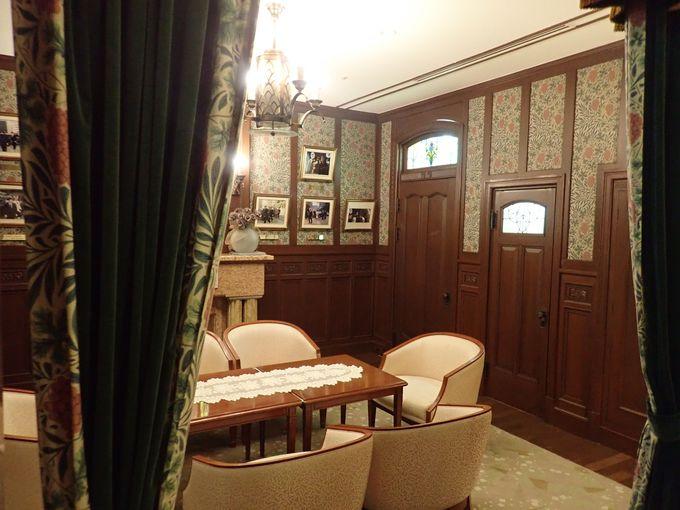 歴代の皇族方もご宿泊、天皇陛下専用室は必見!