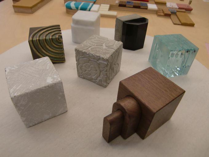素材のたちのキューブ