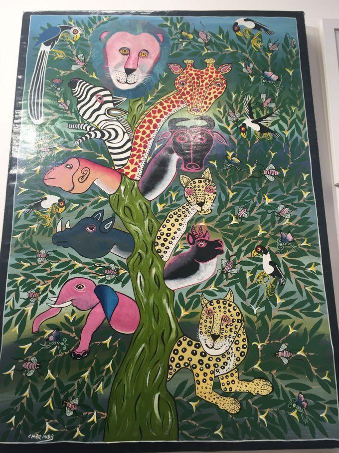 元気をくれるアフリカンアート