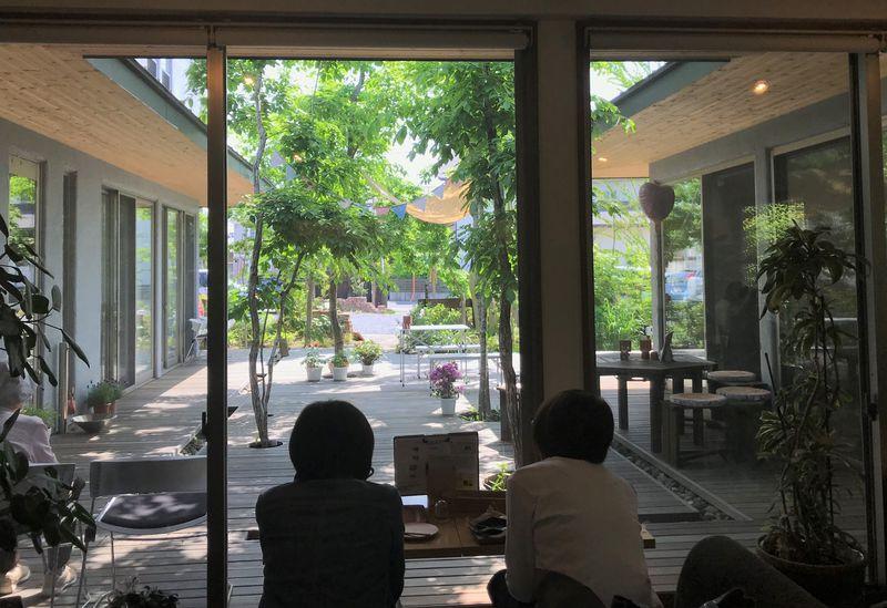 窯焼きピザが自慢 五感で愉しむ 埼玉県深谷市「ハルニレカフェ」