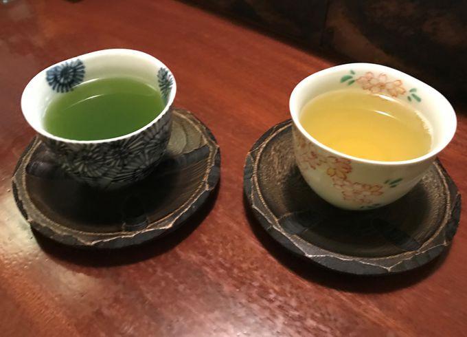 日本茶の違いを楽しむ