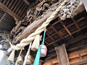 ��須賀・浦賀「西叶神社」を守る巧みの彫刻と出会う