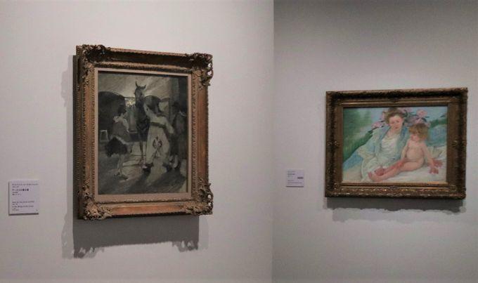 6階:第1部「アートをひろげる」、約140年間を所蔵品でつづる