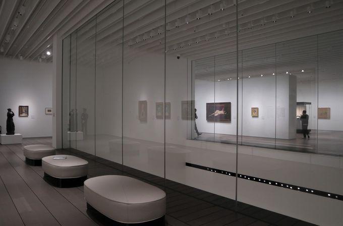 さまざまな工夫を生かす展示室