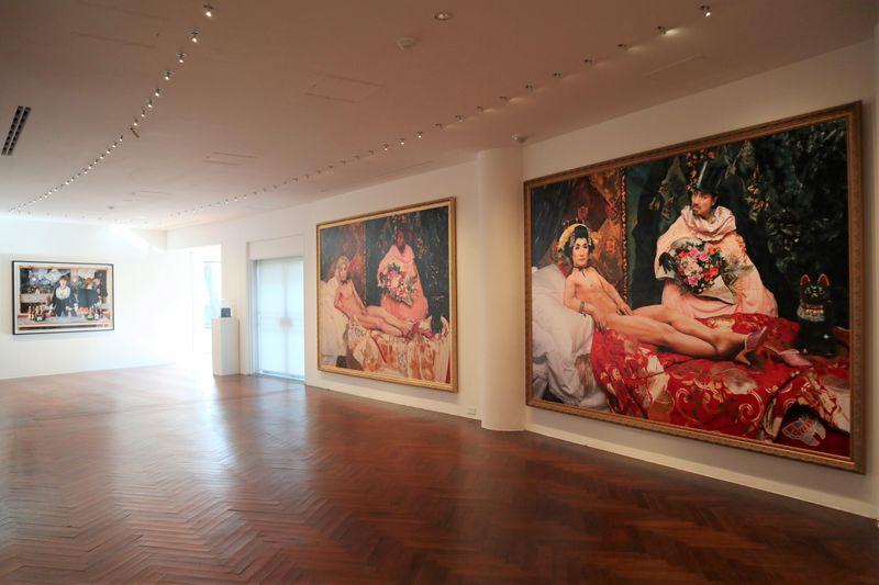 東京・品川の原美術館で「森村泰昌:エゴオブスクラ東京2020」展