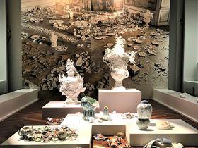東京・大倉集古館で古城の悲劇が語る特別展「海を渡った古伊万里」