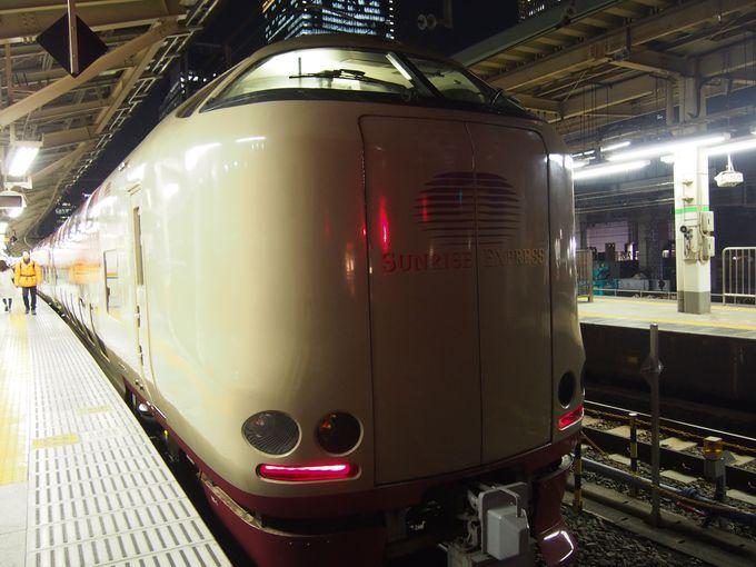 寝台列車「サンライズ出雲」で島根へ