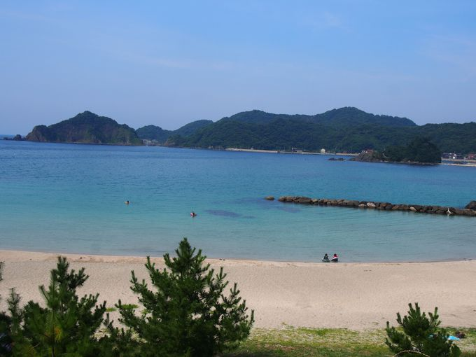 2.笹子海水浴場(笹子ビーチ)/松江市