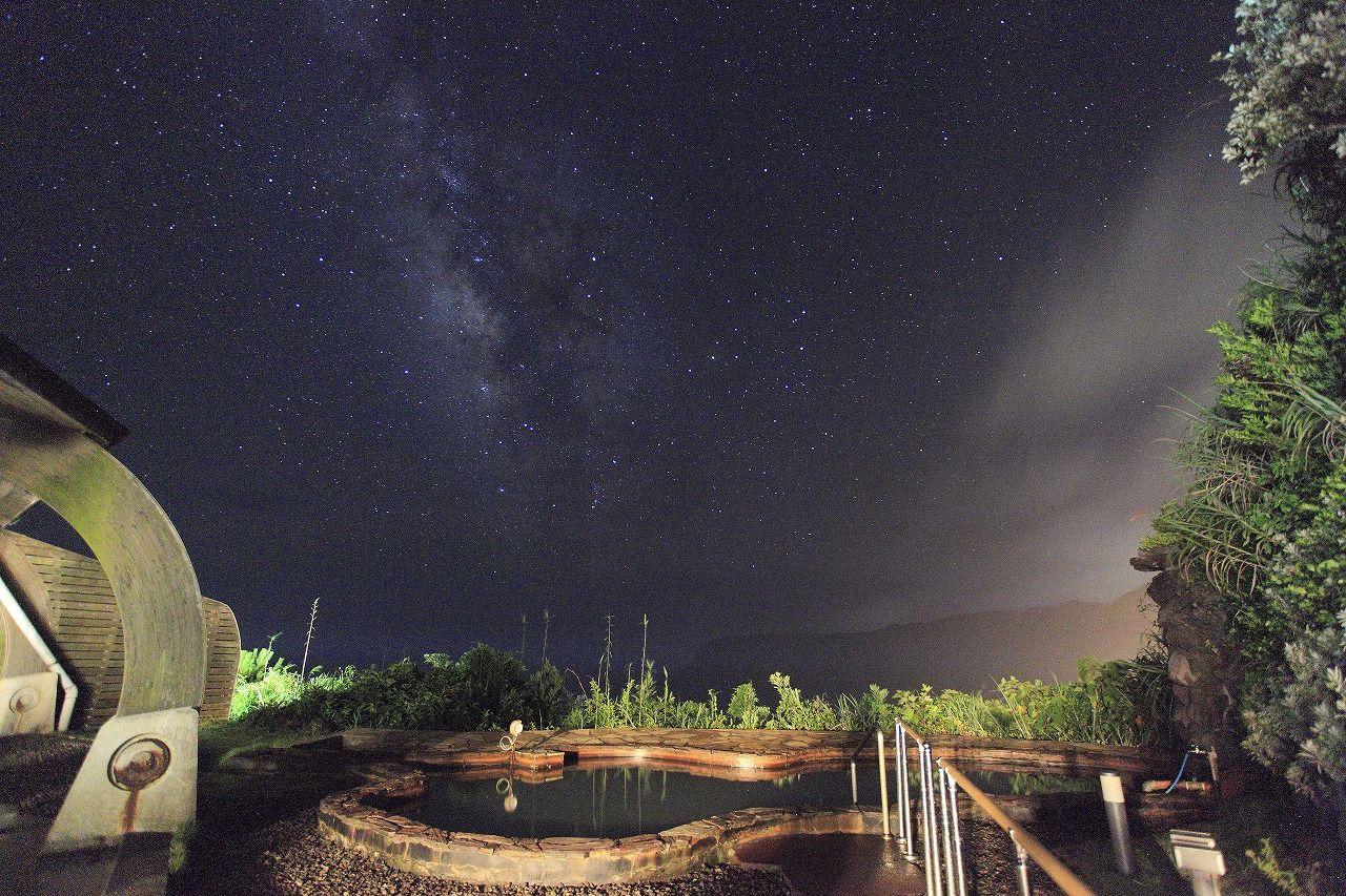 八丈島の夜を楽しむ