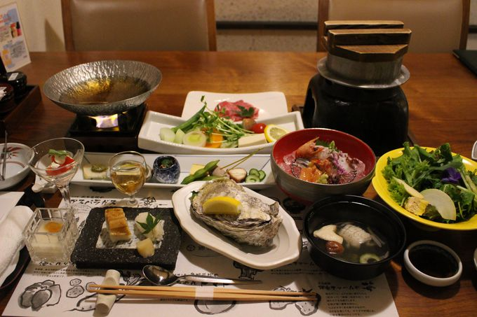 新鮮な牡蠣に穴子… 広島の味と「旬」にこだわったお料理