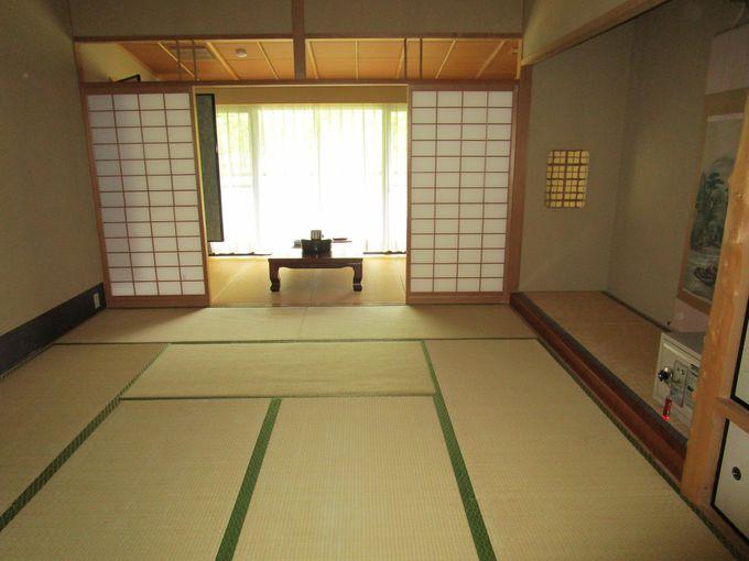 くつろげる和室、モダンな洋室、和洋室。5人まで一緒に泊まれる部屋も