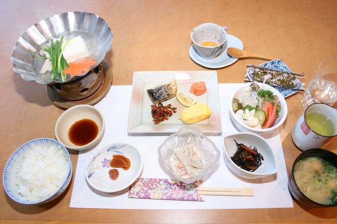 旬の食材を繊細に料理しており、とても美味しい大満足の夕食