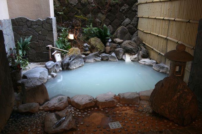 ずっと入っていたくなる名湯が「雲仙いわき旅館」の最高の自慢
