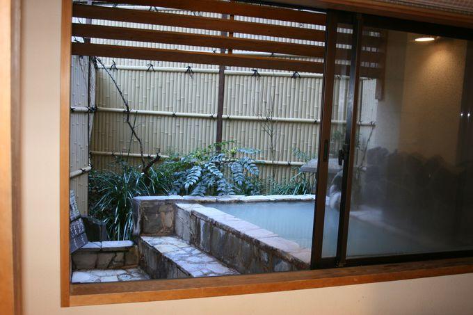 源泉露天風呂付き客室の特別室が5室