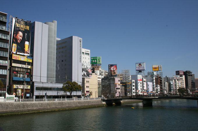 西日本最大の繁華街・中洲の屋台街へも徒歩圏
