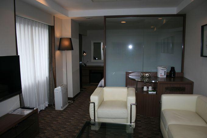 大幅に増加したツインルームは広々快適空間