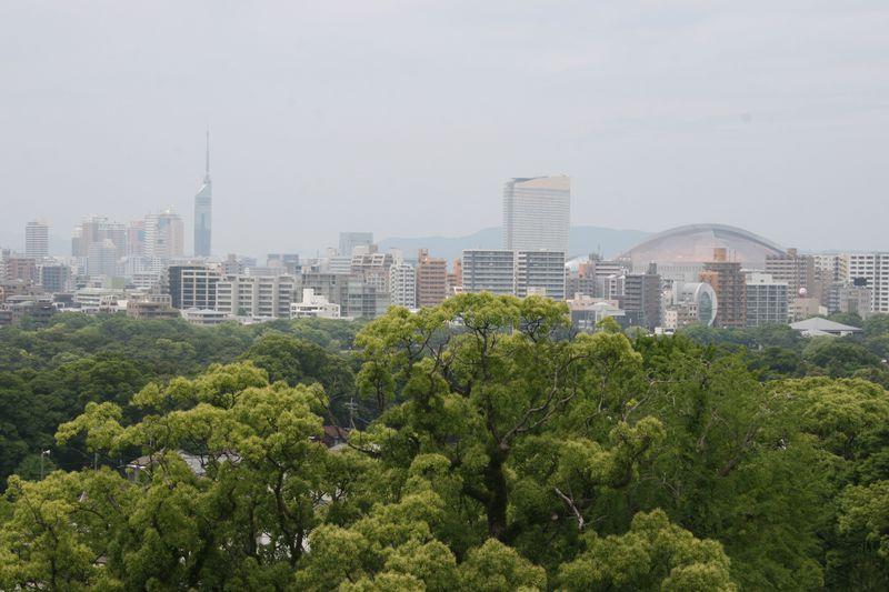 周辺環境の充実も「ホテルサンライン福岡大濠」の大きな魅力