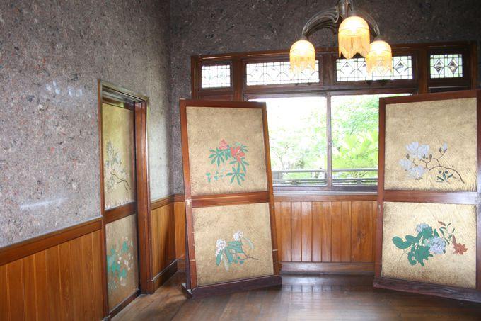 随所に粋と巧みな技が詰め込まれた「旧伊藤伝右衛門邸」