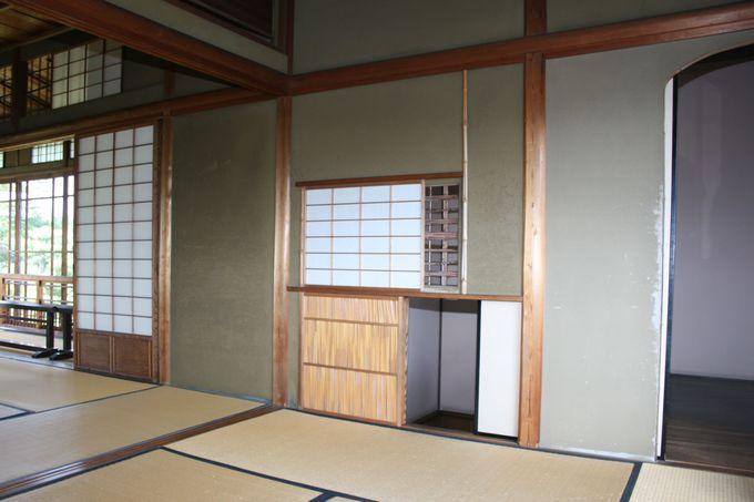豪華絢爛な造りや細工がすばらしい白蓮の部屋