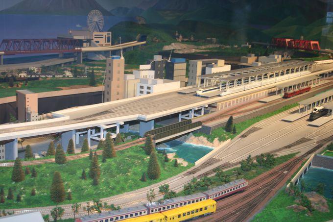 鉄道大パノラマと運転シミュレーターは迫力満点