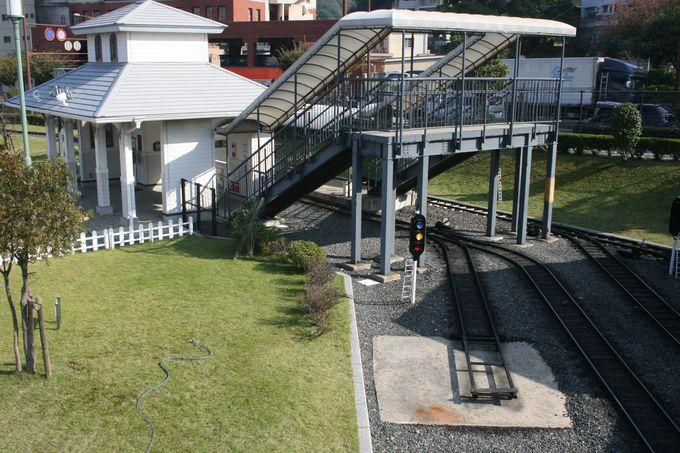 本格的なミニ鉄道で子どもも大喜び