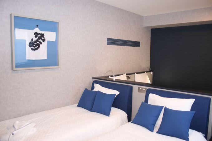 客室は家族旅行やグループ旅行にも最適な「トリプル」「フォース」を設置