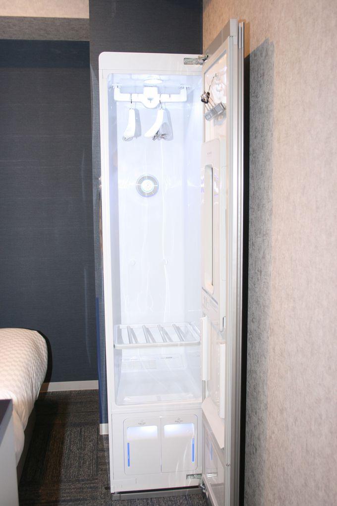 宿泊客にはうれしい快適設備が充実