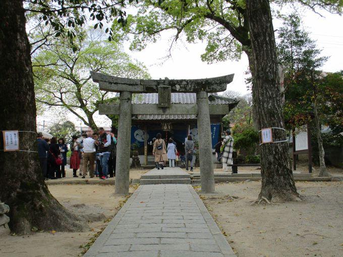 「令和」の元歌が詠まれた大伴旅人邸があった「坂本八幡宮」