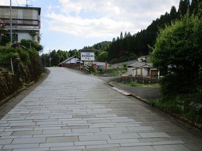 中心部にある「道の駅 小石原」から山側に入ると皿山エリア