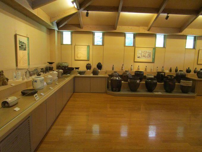 小石原焼の歴史がわかる「展示室1」