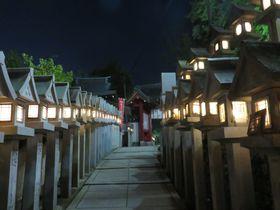 奈良県・信貴山玉蔵院で宿坊体験!夜の境内はまるで異世界!?