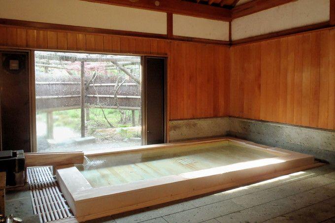 絶品美人湯とハイセンスな浴室風情!