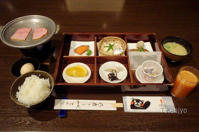 夕食は熊本の幸にこだわった創作会席料理! 阿蘇産の米と水で炊かれたご飯も美味
