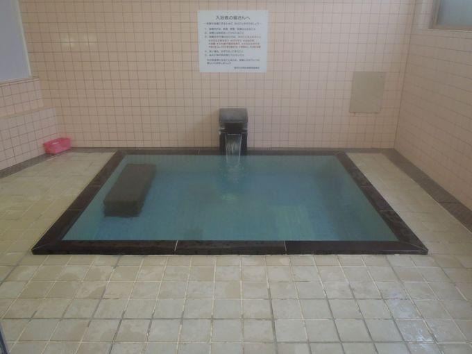 宿泊すると共同浴場も無料で入浴可能!