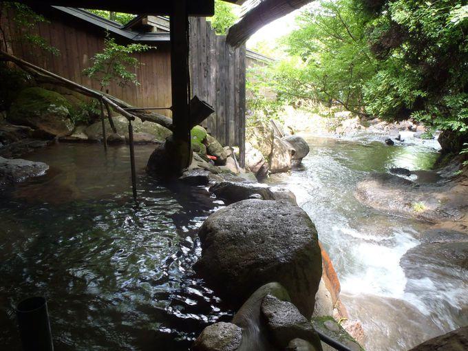 湯の香と渓流の展望が魅力!黒川温泉「お宿 野の花」は温泉風情も良好