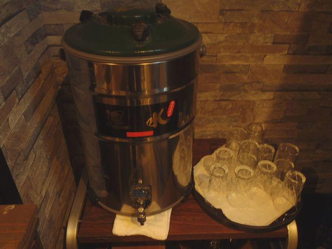 「鶴霊泉」の温泉は是非飲むべし!全く癖が無く柔らかいのど越しの美味!