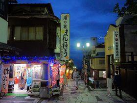これぞ日本の温泉街!伊香保温泉「雨情の湯 森秋」は黄金の湯かけ流しの老舗宿