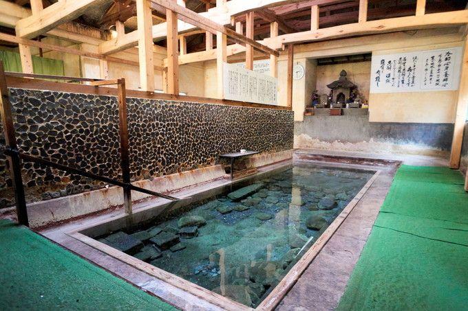 13〜14度の冷泉入浴にチャレンジ!