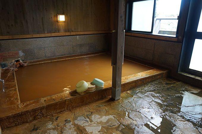 馬子草温泉「きづな」では、泉質とロケーション双方を満喫!
