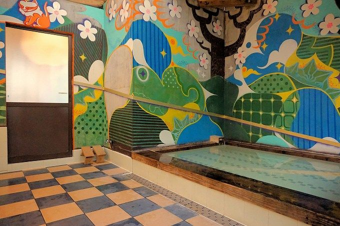 えっ?これが浴室!?「山水グローバルイン」でアート&かけ流しの美人湯を満喫!