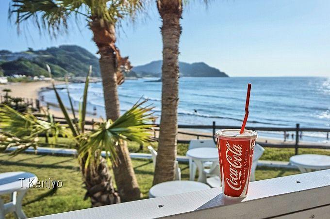 パームビーチで、海を眺めながらオシャレにカフェしよう!