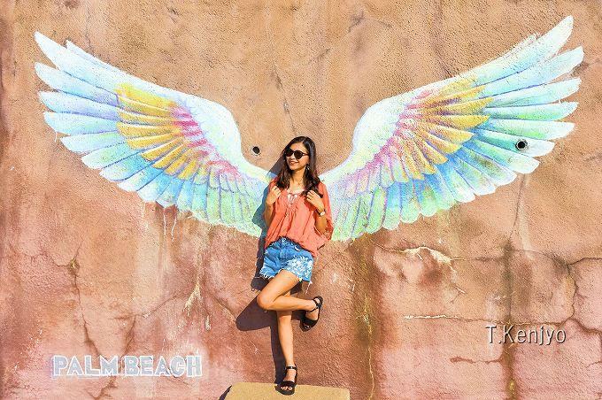 「天使の羽」にインスタ女子が集結!沢山写真を撮ろう!