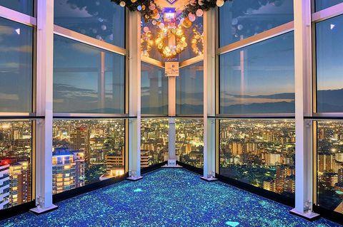 福岡タワーは冬が超絶ロマンチック