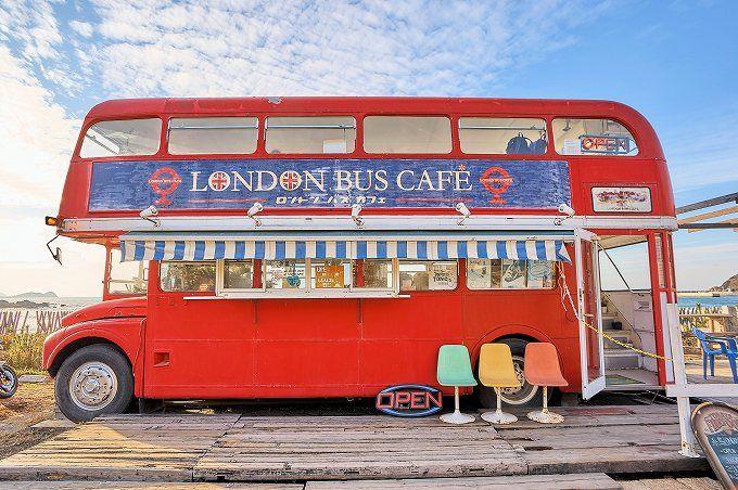 3.ロンドンバスカフェ