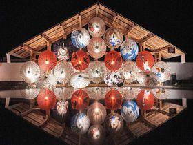 「山鹿灯籠浪漫・百華百彩」夜灯りに包まれた熊本の冬の祭典