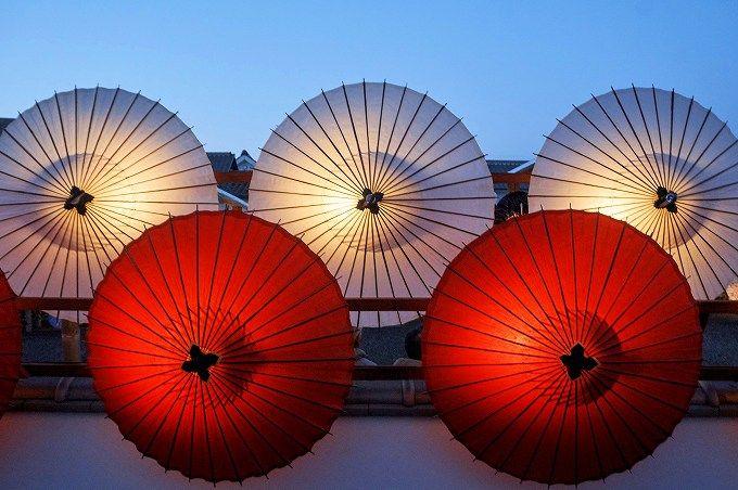 「山鹿灯籠浪漫・百華百彩」は日没前から訪問しよう!