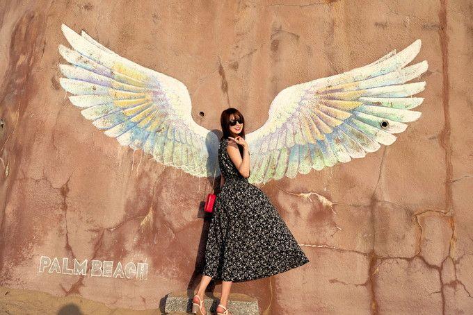 15時〜「サンセット」&「天使の羽」。全国からインスタ女子集結